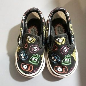 31daadab275545 Vans. Vans Yo Gabba Gabba Slip On Kids Shoes Size 4C.  22  22